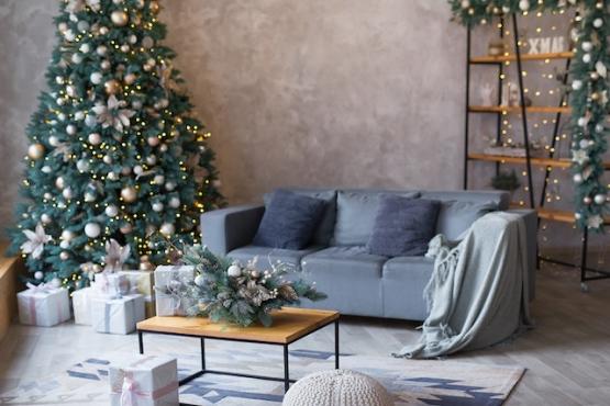 décoration noel appartement Annemasse