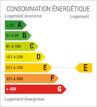 Diagnostic de Performance énergétique de niveau E